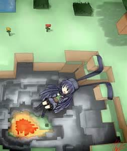 Minecraft Ender Dragon Girl Anime