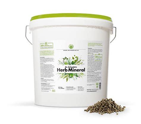 dr schaettes herb mineral pellets kg pferd vitamine