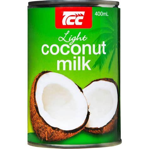 light coconut milk tcc coconut milk lite 400ml woolworths