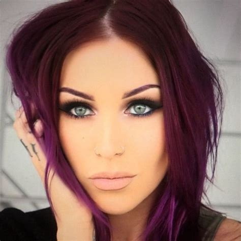 What Colors Go With Hair by 17 Best Ideas About Plum Highlights On Plum