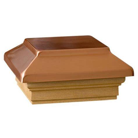 deckorators  victoria plateau copper post cap