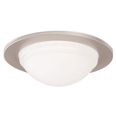 shower rated recessed lights halo 5054 series 5 in satin nickel recessed ceiling light