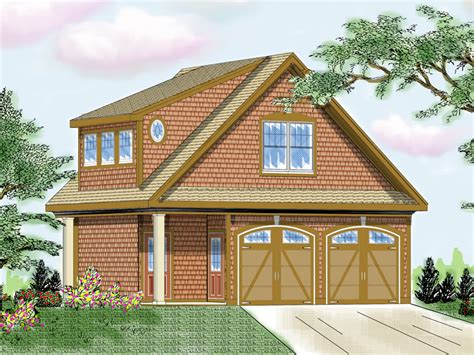 marcheline  story garage plan   house plans