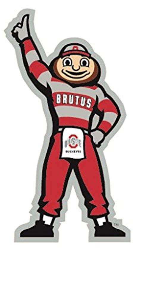 amazon com 4 quot brutus osu ohio state university buckeyes removable wall decal sticker art ncaa