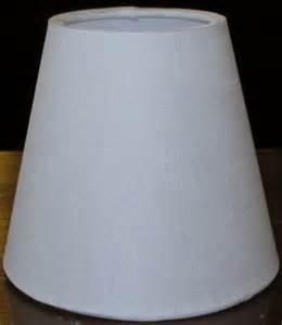 White Chandelier Lamp Shades