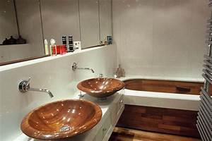 les vasques les plus originales par emmanuelle lartilleux With salle de bain design avec lavabo en marbre