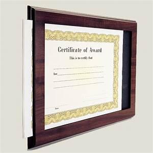 midwest awards corporation slide in certificate holder plaque With slide in certificate plaque and document holder