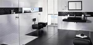 Salle De Bain Noire Et Blanche : la salle de bain en noir et blanc d co salle de bains ~ Melissatoandfro.com Idées de Décoration