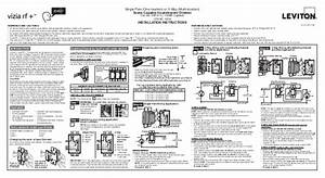 Leviton Vri10 1 Lz Product Manual And Setup Guide
