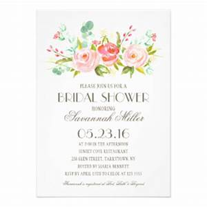 Bridal shower invitations zazzle for Card for wedding shower