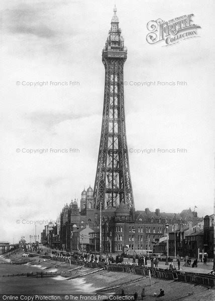 Blackpool, The Tower From Central Pier 1894 - Francis Frith