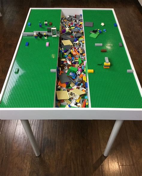 lego table with storage duplo table lego table