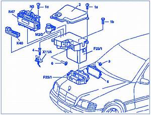 Mercedes Benz Clk 320 2001 Electrical Circuit Wiring