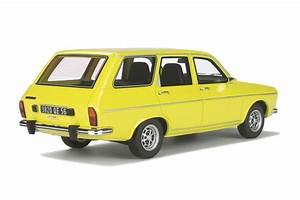 Renault 12 Break Ts - 1972-jaune - 1 18