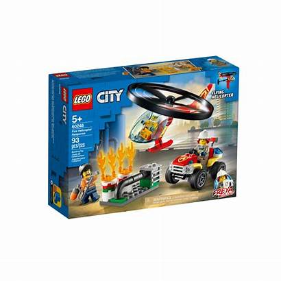 Lego Rescue Fire Helicopter