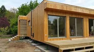 Maison Préfabriquée En Bois : montage d une maison en bois natura rosso dans le loir et cher ~ Premium-room.com Idées de Décoration