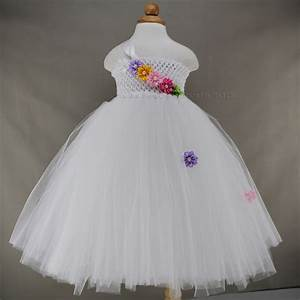 2016 high grade white baby dress wedding flower girl With baby dresses for wedding