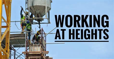 working  heights training  brisbane qld required