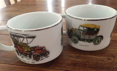 All orders are custom made and most ship worldwide within 24 hours. 2 X Men's Coffee cups Tea Mugs Vintage Car Japan man cave collectables   Men coffee, Tea mugs, Mugs
