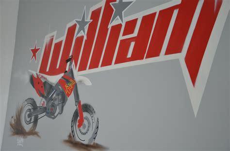 chambre moto déco chambre moto cross