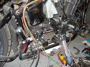 Rewired A Softail Using A Thunder Heart Harness   V