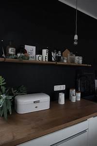 Eckbänke Für Die Küche : eine schwarze wand f r die k che ~ Indierocktalk.com Haus und Dekorationen