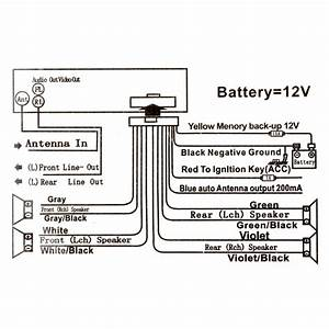 Jsd 520 12v Car Radio Bluetooth Remote Control Mp3 Audio