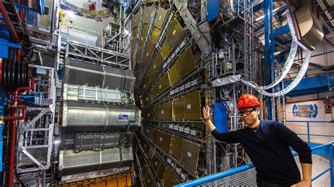 Tested Visits The Large Hadron Collider And Atlas