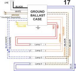 similiar 4 lamp ballast wiring diagram keywords universal ballast wiring diagrams also t12 universal ballast wiring