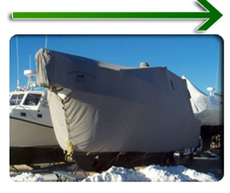 Custom Boat Winter Covers by Custom Boat Covers Winter Boat Covers Fisher Canvas