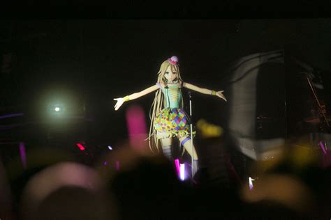 Anime Expo Upgrade Photo Popular Artist Ia Performs In