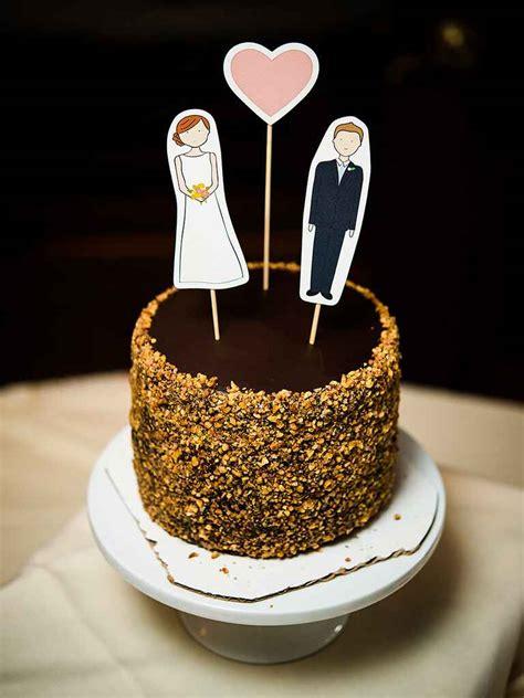 diy wedding cake topper ideas 15 awesome diy wedding cake topper ideas