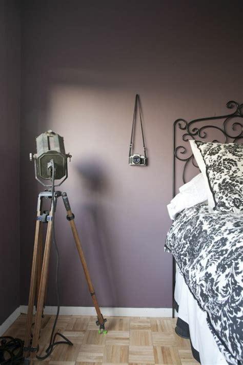 peinture violette pour chambre 80 idées d 39 intérieur pour associer la couleur prune