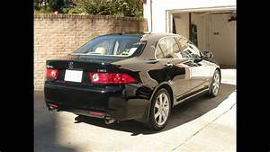2005 Acura Tsx 6-spd Manual Transmission Review