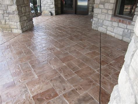 A  Stamped Concrete Contractor St Louis, MO   CALL (636