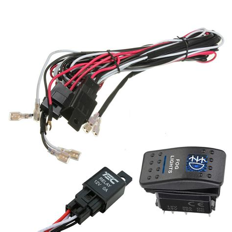 Support Car Rocker Switch Relay Fuse Wiring