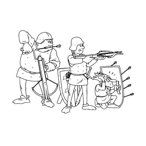 Kleurplaat Oorlog by Leuk Voor Oorlog In De Middeleeuwen