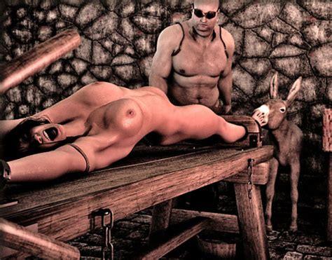bondage torture rack