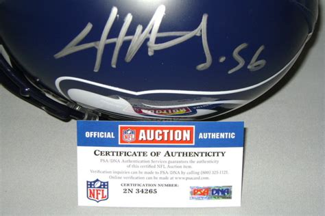nfl auction nfl seahawks cliff avril signed seahawks