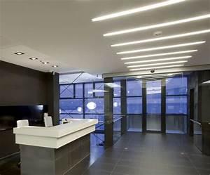 Dlc 4 0 Lighting Led Tube Lights In Office Ceiling Lighting