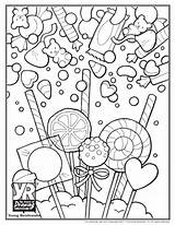 Candy Coloring Pages Skull Sweet Sugar Printable Sheets Getcolorings Adults Christmas Pdf Drawing Popular Young Getdrawings Colorings Cool Glider Coloringpage sketch template