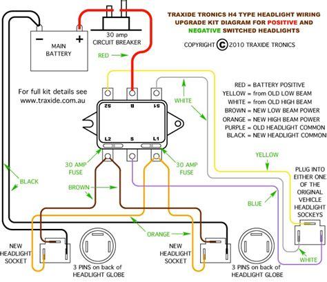 def hwuk headlight wiring upgrade kit traxide rv traxide rv