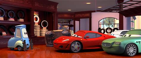 As anyone who has seen the cars films knows, the hilarious luigi and guido are huge ferrari fans. Michael Schumacher (race car)   World of Cars Wiki ...