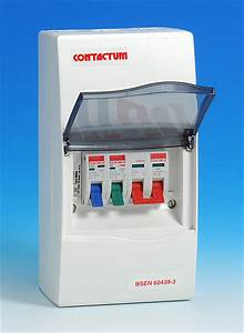 2 Way Insulated Consumer Unit