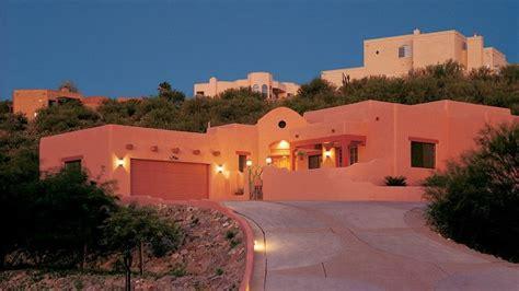 adobe southwestern style house plan  beds  baths  sqft plan   pueblo style