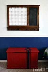Pegboard Selber Bauen : bauen sie ihren eigenen pegboard organizer mit ~ Watch28wear.com Haus und Dekorationen
