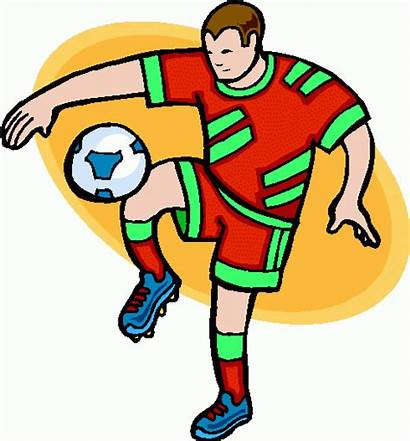Soccer Clipart Clip Playing Play Football Cliparts