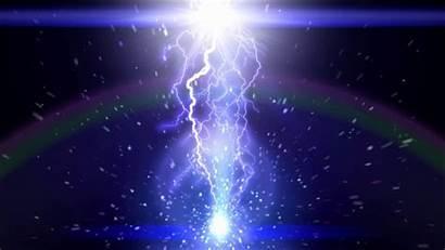 Lightning Thunder 4k Moving Strike Special Effect