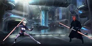Darth Maul (TPM) VS Asajj Ventress - Battles - Comic Vine