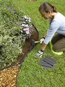 Beet Im Garten : rasenkante im garten gestalten eine auswahl an materialien ~ Lizthompson.info Haus und Dekorationen